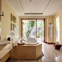 Banheiro na Luxury Suite Villa