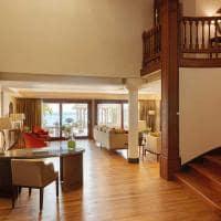 Espaço comum Royal Suite