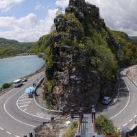 Estrada em U - Ilhas Mauricio