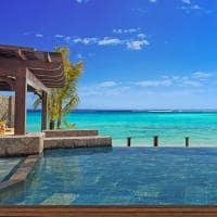 st regis mauritius resort piscina na villa