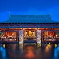 st regis mauritius resort restaurante floating market