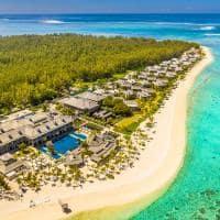 st regis mauritius resort vista aerea