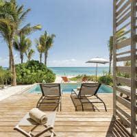 Andaz mayakoba bilevel suite terrace view