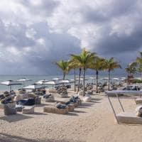 Andaz mayakoba praia cadeiras