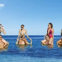 Breathless cancun praia em grupo