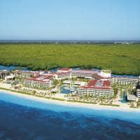 Breathless cancun vista aerea praia