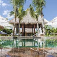 Chablemaroma aerea piscina