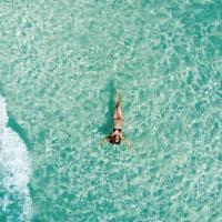 Flutuando em Cancún