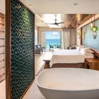 Palmaia the house of aia ocean front king suite with bathtub
