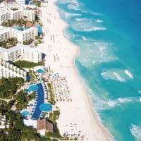 Praia cancun aereo
