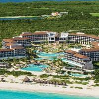 Vista aérea no Dreams Playa Mujeres