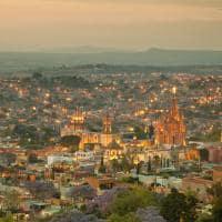 Vista aérea San Miguel Allende, México