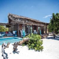 Anantara medjumbe exterior beach pool villa