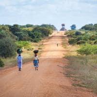 Estrada terra mocambique