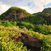Montanhas Anse em Major