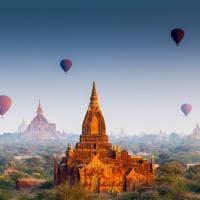 Templo em Bagan - Myanmar