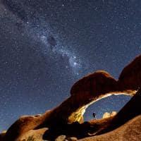 Deserto a noite