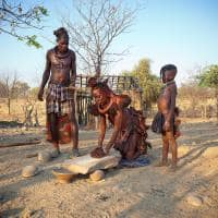 Himba familia