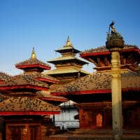 Ponto turístico Praça Durbar, Catmandu, Nepal