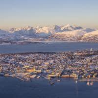 Noruega tromso inverno