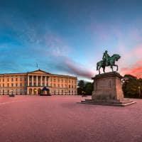 Palácio Real de Oslo, Noruega