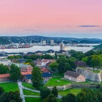 Vista de Oslo, Noruega