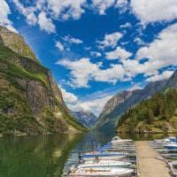 Vista dos fiordes noruegueses