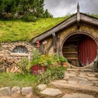 Atração turística Hobbiton Shire Nova Zelândia