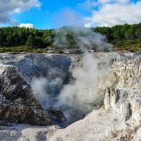 Atração turística Waiotapu, Rotorua, Nova Zelândia
