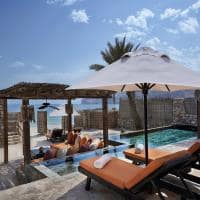 Six senses zighy bay piscina frente mar