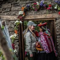 Atividade cultural no Peru