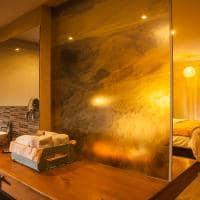 Banheiro do Lamay Lodge
