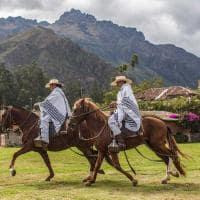 Exibição de cavalos, Sol y Luna
