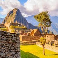 Patrimônio UNESCO antiga cidade Inca, Machu Pichu, Peru