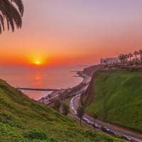 Peru por do sol lima