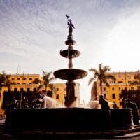 Plaza de Armas, Lima, foto cortesia PROMPERU