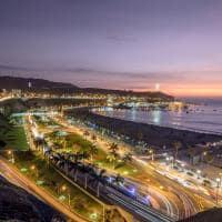 Ponto turístico praia Aguadulce capital Lima Peru