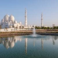 Ponto turistico Abu Dhabi Grande Mesquita Sheikh Zayed