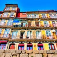 Casas coloridas porto portugal