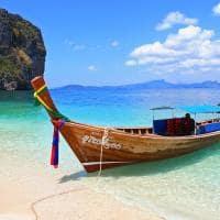 Praia em Krabi