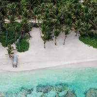 Punta cana praia vista aerea