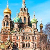 Catedral do Sangue Derramado - São Petersburgo, Rússia.