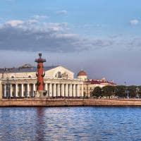 Ponte do Palácio, em São Petersburgo - Rússia.