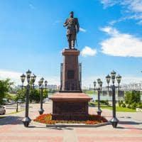 Russia monumento a alexandre iii novosibirsk