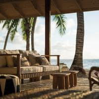 Beach bar Four Seasons Seychelles at Desroches Island