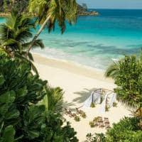 Cerimônia de casamento, Four Seasons Seychelles