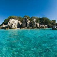 Coco Island próximo ao Six Senses Zil Pasyon