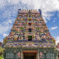 Cultura templo hindu Mahé, Ilhas Seychelles