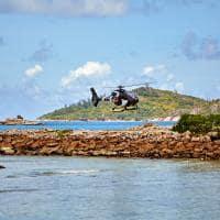 Excursão de helicóptero, Six Senses Zil Pasyon