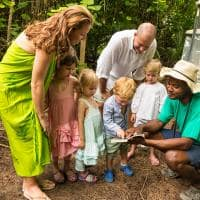 Família tour, Denis Private Island